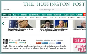 Huffington Post mardra sikora