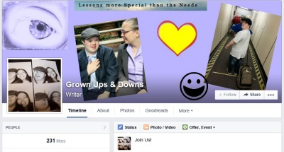 Want to celebrate with us? We'll be sharing on the Grown Ups & Downs Facebook page all weekend!
