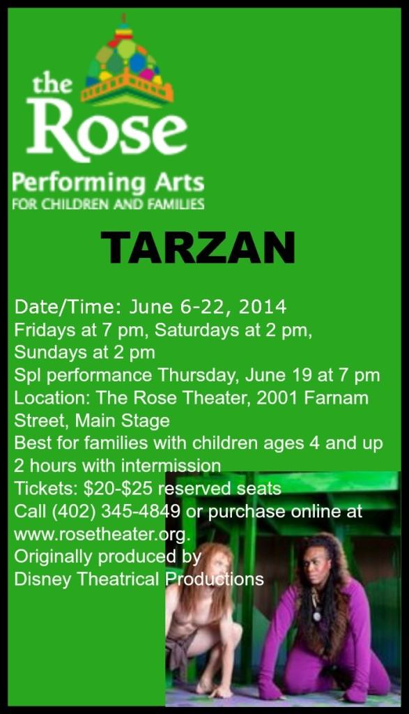 Tarzan at the Rose