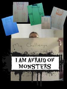 I am afraid of monsters pic F